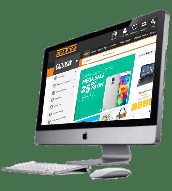 Mega store Techpro Design Project