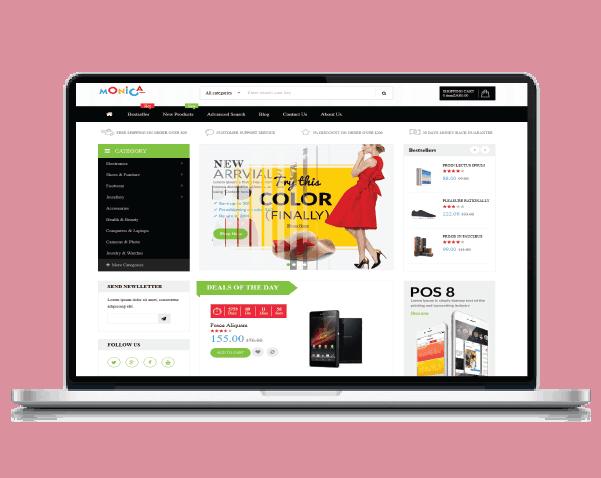 Techpro Design | Monica Demo Store